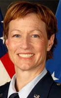 Air Force Maj. Phyllis J. Pelky
