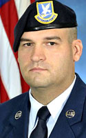 Air Force Senior Airman Nathan C. Sartain