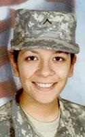 Army Pfc. Adriana  Alvarez