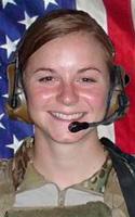Army 1st Lt. Ashley I. White