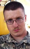 Army Spc. Jacob D. Barton