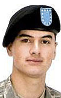 Army Spc. Benjamin C. Pleitez