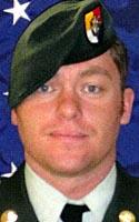 Army Staff Sgt. Brandon F. Eggleston