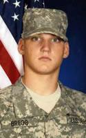 Army Pfc. Lucas M. Bregg