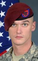 Army Staff Sgt. Carl E. Hammar