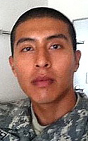 Army Pfc. Cesar  Cortez