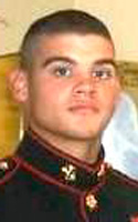 Marine Lance Cpl. Derrick J. Cothran