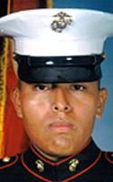 Marine Lance Cpl. Emilian D. Sanchez