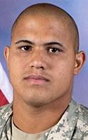 Army Pfc. Ethan L. Goncalo