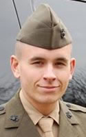 Marine Lance Cpl. Jordan C. Haerter