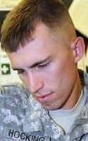 Army Sgt. Brandon S. Hocking