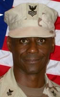 Navy Mass Communications Specialist 1st Class Victor W. Jeffries