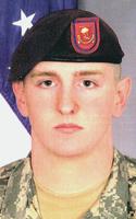 Army Pvt. Johnathon M. Millican