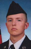 Air Force Airman 1st Class Christoffer P. Johnson