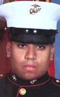 Marine Lance Cpl. Mark D. Juarez
