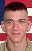Army Pfc. Bradley G. Kritzer