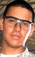 Army Cpl. Luis D. Santos