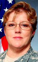 Army Command Sgt. Maj. Marilyn L. Gabbard
