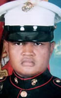 Marine Cpl. Jaygee  Meluat