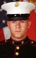Marine Lance Cpl. Kevin T. Preach