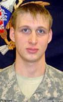 Army Spc. Blaine E. Redding