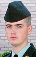 Army Pfc. Ryan D. Christensen