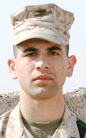 Marine Cpl. Salem  Bachar