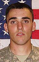 Army Pfc. Zachary S. Salmon