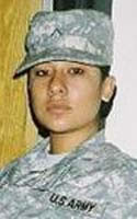 Army Spc. Jessica Y. Sarandrea