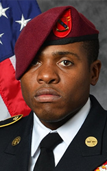 Army Sgt. Roshain Euvince Brooks