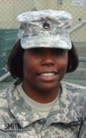 Army Sgt. 1st Class Tara J. Smith