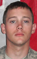 Army Pfc. Austin G. Staggs
