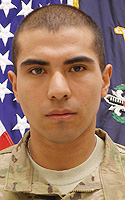 Army Spc. Vilmar  Galarza Hernandez