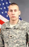 Army Spc. James D. Wertish