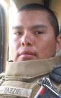 Marine Lance Cpl. Alejandro J. Yazzie