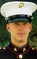 Marine Lance Cpl. Michael J. Allred