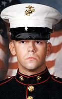 Marine Lance Cpl. Adam R. Brooks