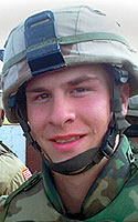 New York Army National Guard Pfc. Nathan P. Brown
