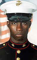 Marine Pfc. Tamario D. Burkett