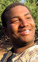 Army Pfc. Justin R. Davis