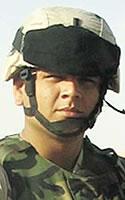 Army 1st Lt. Carlos J. Diaz
