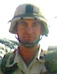 Army Master Sgt. Robert J. Dowdy