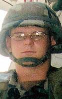 Army Spc. Dustin C. Fisher
