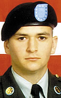 Army Pvt. Landon S. Giles