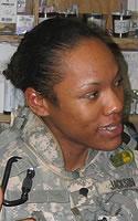 Army Sgt. Wakkuna A. Jackson