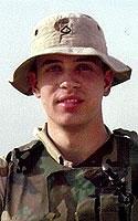 Army Pfc. Ken W. Leisten