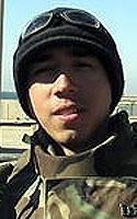 Marine Lance Cpl. Karl R. Linn