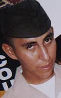 Marine Lance Cpl. Joshua E. Lucero