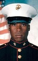 Marine Lance Cpl. Deshon E. Otey