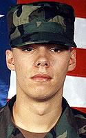 Army Pfc. Kristian E. Parker
